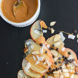 Apple Nachos {paleo + gluten free + dairy free}