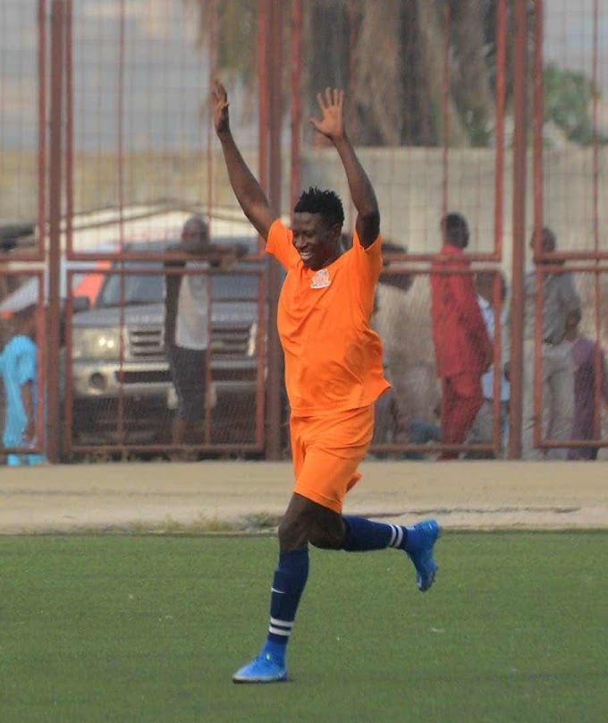 Sadeeq Yusuf Scores 8th League Goal Of The Season, Goes Top Of Scorers Chat