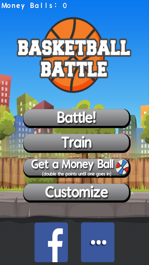 Basketball Battle by Rocking Pocket Games- screenshot