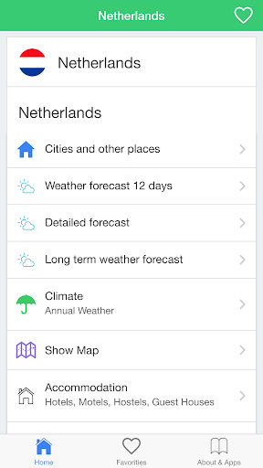 荷蘭天氣預報,引導旅客。