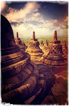 Photo: Borobudur, Indonesia  This remote temple is not easy to get to, but once you are there, everything is magical and awesome... I have a bunch more photos athttp://www.stuckincustoms.com/category/travel/indonesia/borobudur/