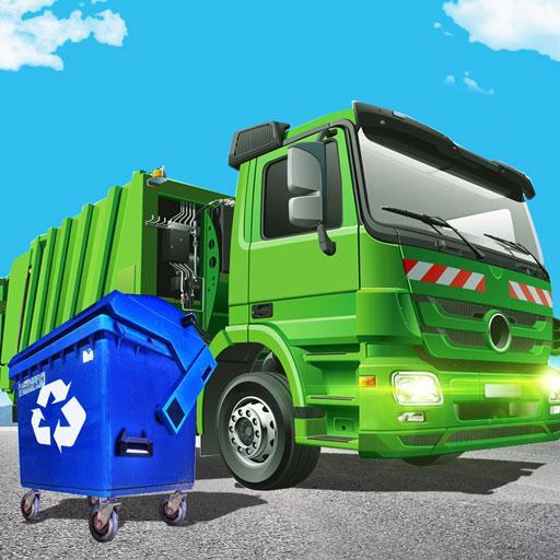 Garbage Dump Truck Driving Simulator 2018