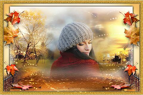 Fall Memoirs Photo Frames