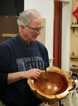 Photo: This large cedar bowl really has some character!