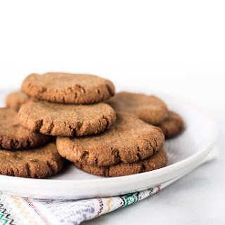 Soft and Chewy Paleo Ginger Snap Cookies.