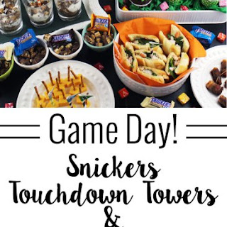Snickers Touchdown Tower Desserts.