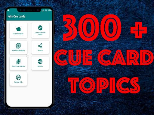 IELTS Cue cards 5.0.7 screenshots 1