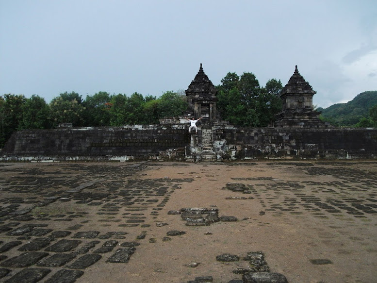 Barong Temple, the sight from second terrace