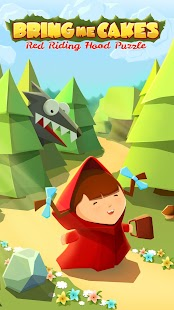 Bring me Cakes - Little Red Riding Hood Puzzle - náhled