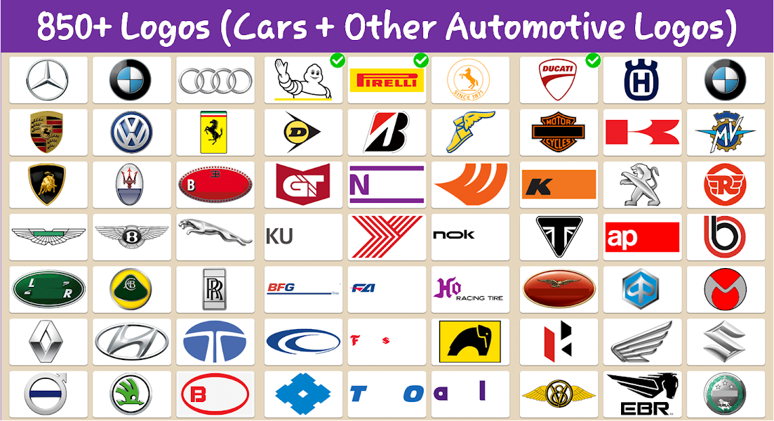 Best Car Brands Logo Quiz HD: Guess Car Symbols