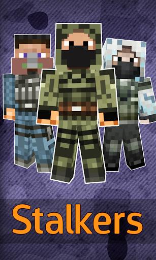 Skins stalker for Minecraft