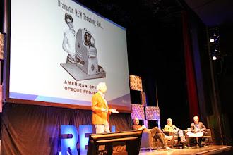 Photo: Bill Kreysler presenting at #REAL2015 Main Stage