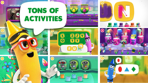 Crayola Create & Play: Coloring & Learning Games - screenshot