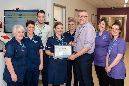 Welshpool Ward Sister is a Health Hero