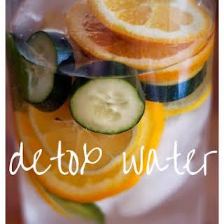 Detox Water.