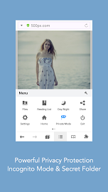 Mercury Browser for Android Screenshot 1