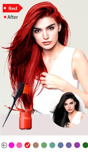 Easy Hair Color Changer 1.0.0 screenshots 3