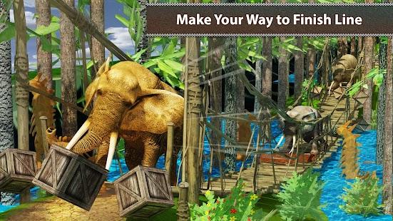 Elephant Simulator Wild Racing - náhled
