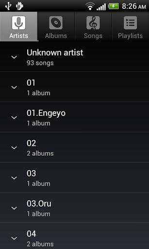 Default Music Player 10.0 screenshots 2