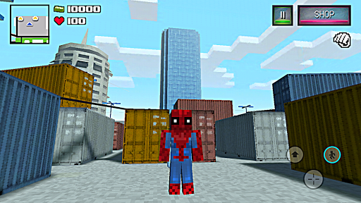 Spider Hero Story - Player Battle Craft  trampa 1