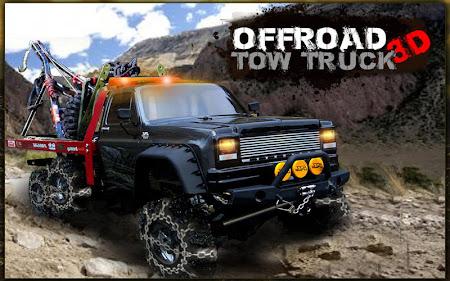 Offroad Tow Truck 3D 1.2 screenshot 1640345