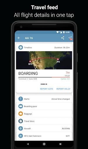 App in the Air - Travel planner & Flight tracker 4.0.9 screenshots 1
