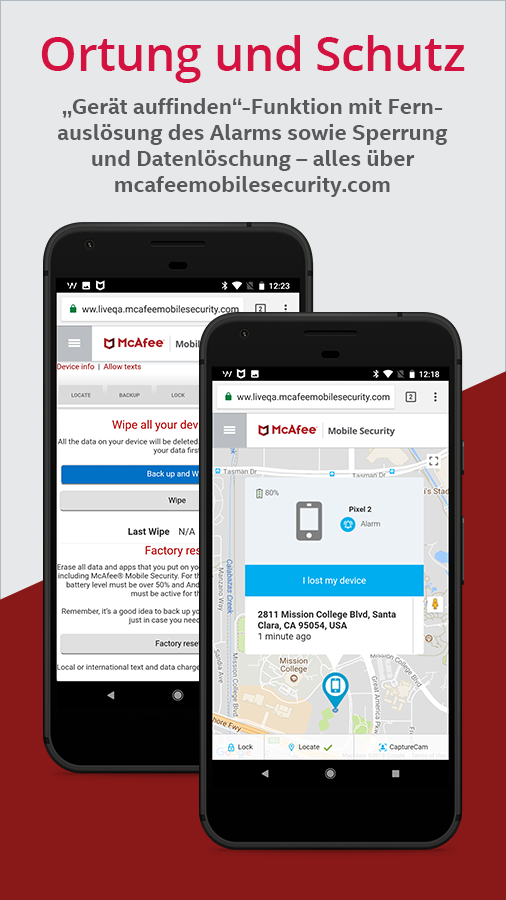 Mcafee Mobile Security Android Apps Auf Google Play