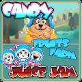 Fruits Farm Candy JuiceJam - Match Puzzle