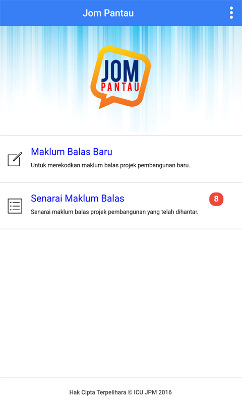 JOM PANTAU- screenshot