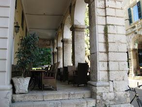 Photo: Arches and bar Corfu