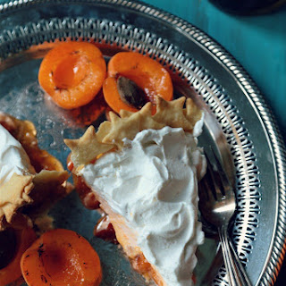 Brandy Apricot Ribbon Pie