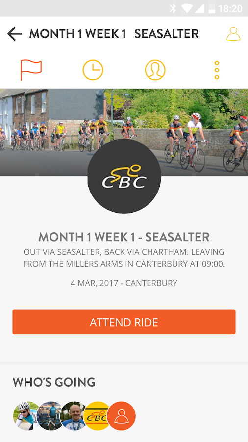 Canterbury Bicycle Club- screenshot