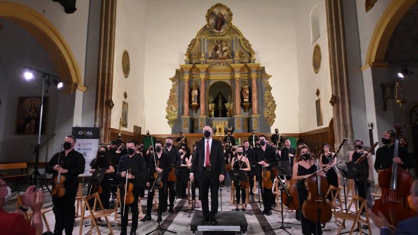 Concierto de la OCAL en la Iglesia de Santiago.
