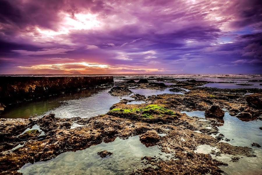 the dawn is coming by Andre Zuardi - Landscapes Waterscapes ( dawn, beachnature, sunset, indonesia, fuji, anyer, beach, fujinon )