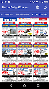 Coupons for harbor freight android apps on google play coupons for harbor freight screenshot thumbnail sciox Image collections