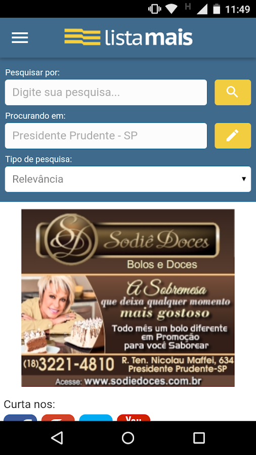 Lista Mais- screenshot