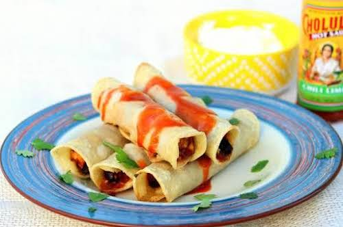 """Chicken Taquitos """"These taquitos are delicious and simple to prepare. All the..."""