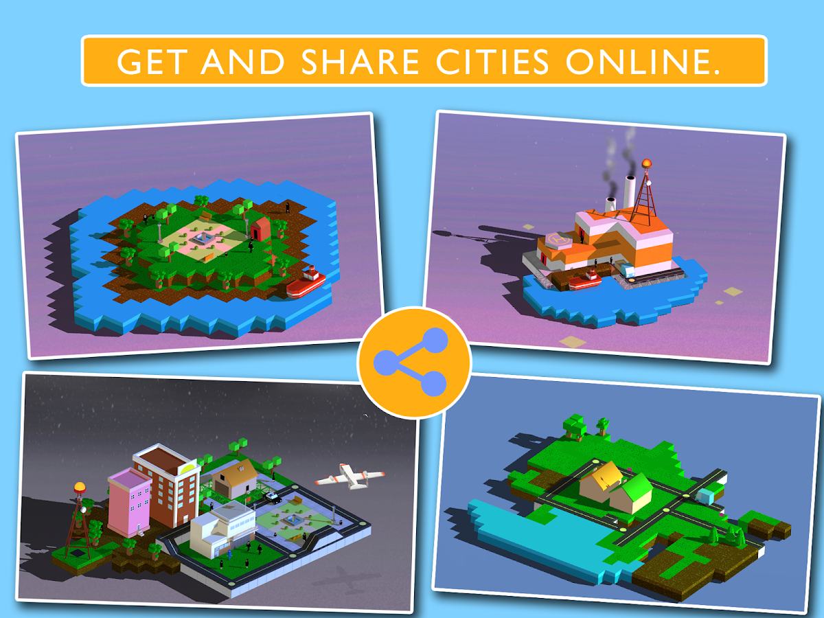 Blox 3D City- screenshot