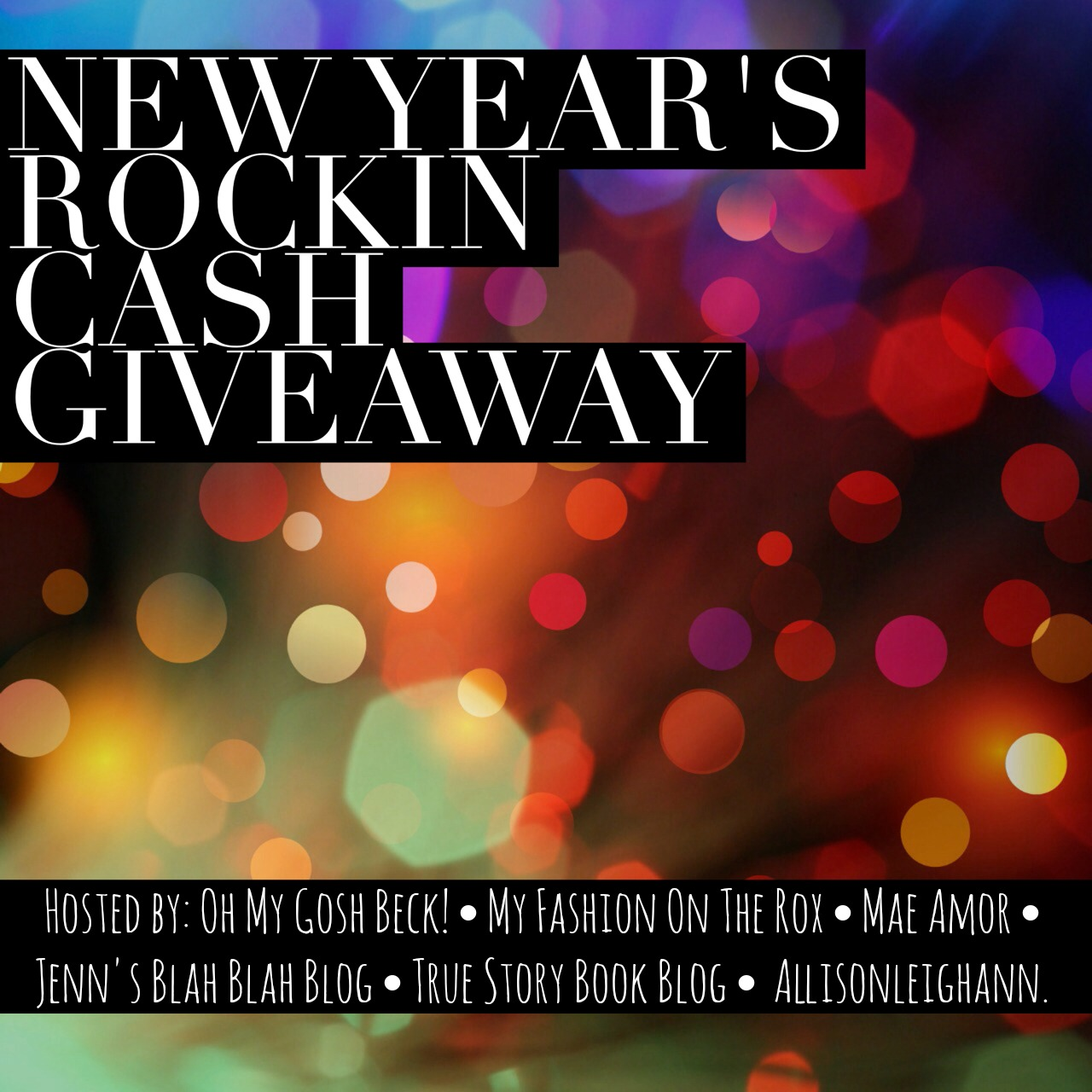 New Year's Rocking Cash Giveaway