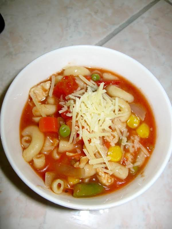 Macaroni Soup Recipe