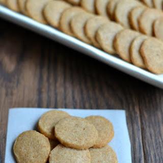 Simple Homemade Cheese Crackers - Just 3 Ingredients