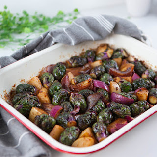 Roasted Miso Brussel Sprouts Recipe