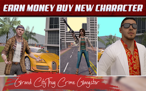 Grand City Thug Crime Gangster 2.18 screenshots 4