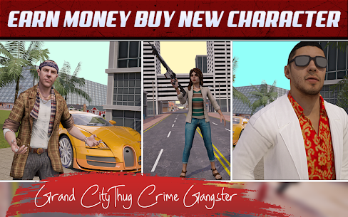 Grand City Thug Crime Gangster 4