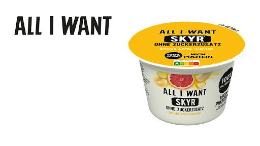 Bild für Cashback-Angebot: ALL I WANT Skyr Zitrus-Apfel-Ingwer - All I Want