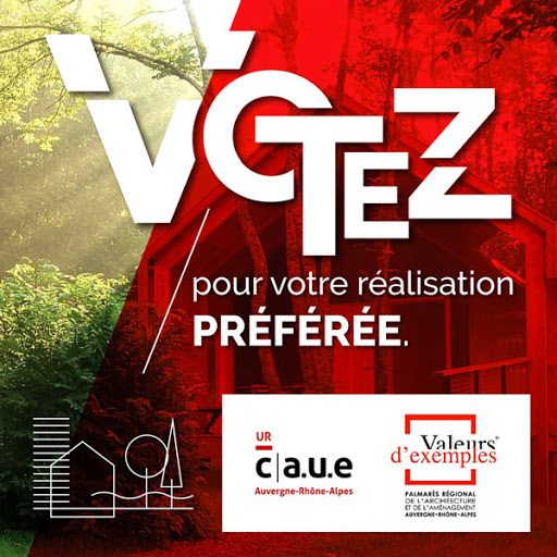 Vote du public - Palmarès régional de l'architecture et de l'aménagement