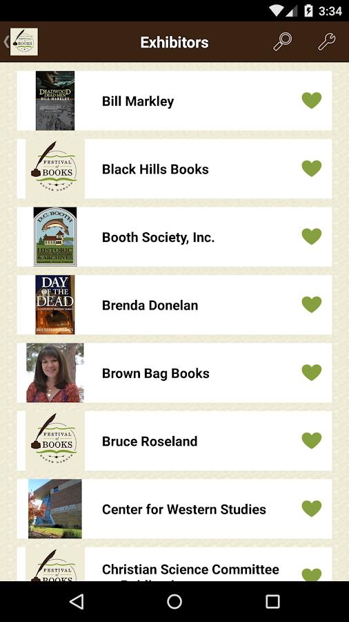 South Dakota Festival of Books- screenshot