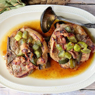 Low-Carb Dill Pickle Pork Chops.