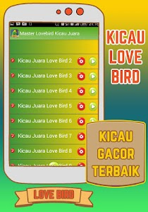 Master Lovebird Kicau Juara screenshot 2