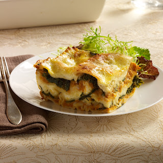 Pumpkin Lasagna with Ricotta and Swiss Chard